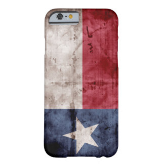 Riden ut Texas flagga; Barely There iPhone 6 Skal