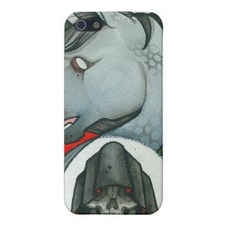 """""""Rider död en Unicorn """", iPhone 5 Fodral"""