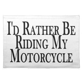 Rider ganska min motorcykel bordstablett