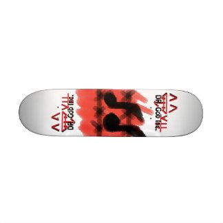 Ridin musiken skateboard bräda 21,5 cm