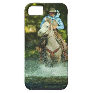 Ridninghäst till och med vatten tough iPhone 5 fodral