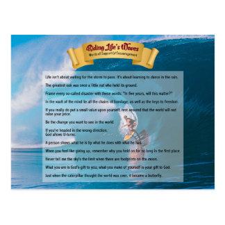 Ridningliv vinkar - service & uppmuntran vykort
