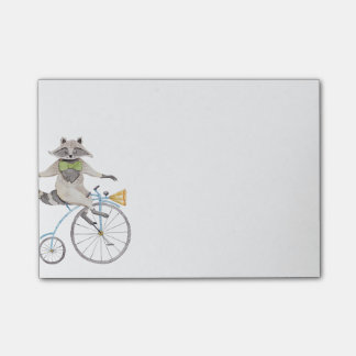 RidningRaccoon Post-it Block