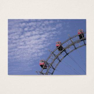 Riesenrad i Prater Wien Österrike Visitkort
