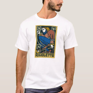 Rigoletto opera tee shirts