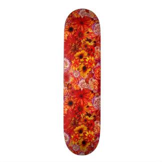 Rika glödheta daisy för blom- ljus Rojo bukett Old School Skateboard Bräda 18 Cm