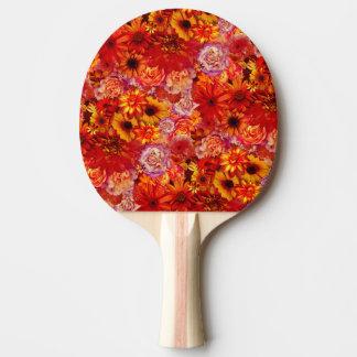 Rika glödheta daisy för blom- ljus Rojo bukett Pingisracket