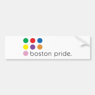 Riklig Boston pride Bildekal