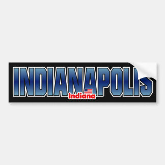 Rikliga Indianapolis Bildekal