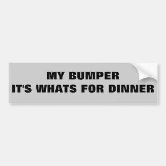 Rikligt är det vad är för middag bildekal