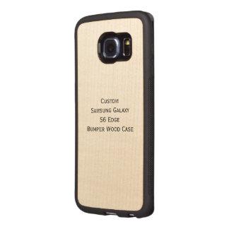Rikligt Wood fodral för beställnings- kant för Wood Phone Skal