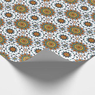 Rikt för stjärnablomma för Maharaja Indien mönster Presentpapper