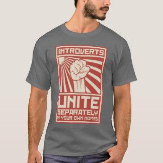 Riktar inått förenar separat i dina egna hem tshirts