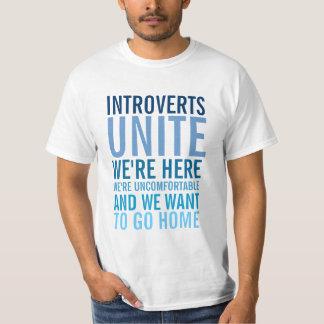 Riktar inått förenar t-shirts
