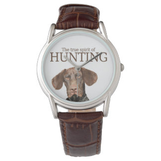 Riktig ande för glansig Grizzly av jakt Armbandsur