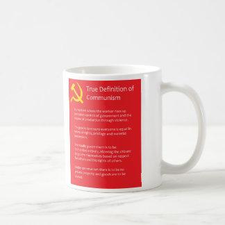 Riktig definition av kommunism 325 ml vitmugg kaffemugg