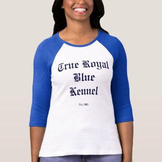Riktiga kungliga blått t shirts
