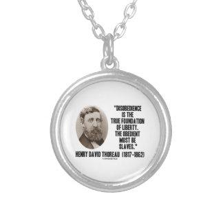 Riktigt fundament för Thoreau Disobedience av frih