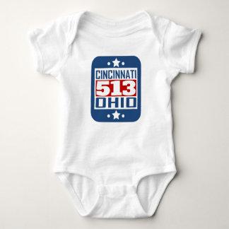 Riktnummer för 513 Cincinnati OH T-shirts