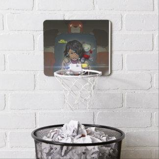 Ring för leksaktillverkarebasket Mini-Basketkorg