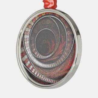 Ringarna tusen och en av cirkusen julgransprydnad metall