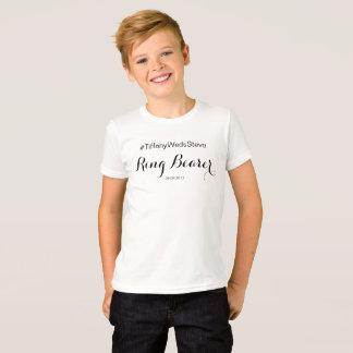 """""""Ringbärare"""" T-tröja från den färdiga brud- T-shirt"""