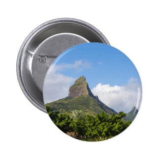 Ringbult de la Liten och nätt berg i panorama- Standard Knapp Rund 5.7 Cm