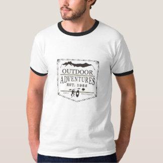 Ringed utslagsplats för utomhus- tröjor