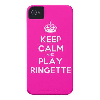 "Ringette blackberry boldfodral - ""behållalugn"" - r iPhone 4 case"