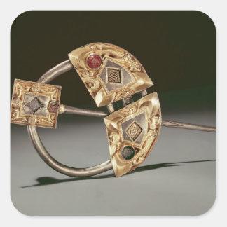 Ringformig brosch, Ardagh förråd, Reerasta Fyrkantigt Klistermärke