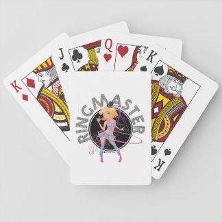 Ringmaster (blondin): Leka kort Kortlek