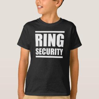 Ringsäkerhetspojkar som gifta sig skjortan tee shirt