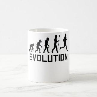 Rinnande evolution kaffemugg
