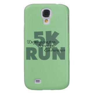 rinnande gröntsportar för springa 5K Galaxy S4 Fodral