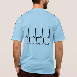rinnande skjorta med en cardiogram tröja