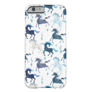 Rinnande Unicorns, iphone 6 täcker Barely There iPhone 6 Skal