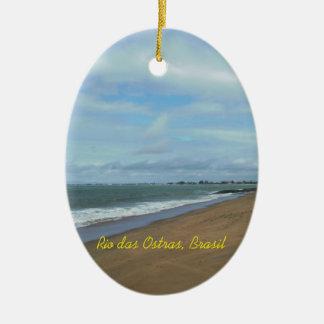 Rio das Ostras, Brasil Julgransprydnad Keramik