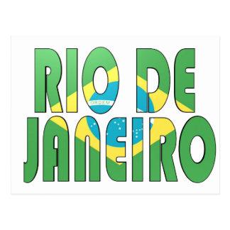 Rio de Janeiro Brasilien Vykort