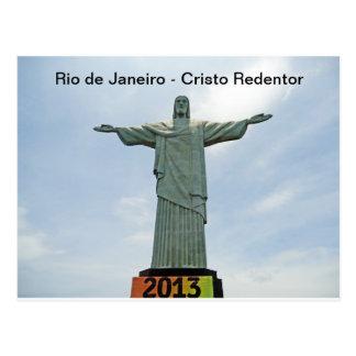 Rio de Janeiro - Cristo Redentor Vykort