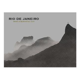 Rio de Janeiro härlig stad Vykort