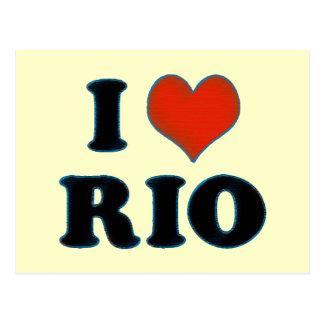 Rio de Janeiro - jag älskar Rio Vykort