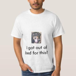Rio Dobermanvalp, gäspa som är sömnigt T Shirts