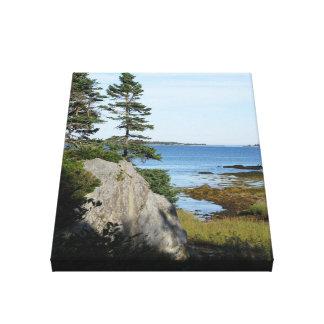 """Risers strand Nova Scotia "", Canvastryck"