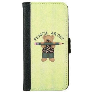 Rita konstnären plånboksfodral för iPhone 6/6s