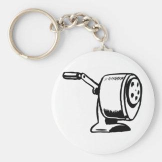 Rita sharpeneren Keychain Rund Nyckelring