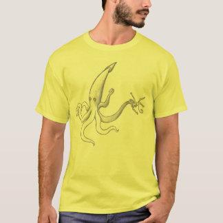 rita tioarmad bläckfisk t-shirt