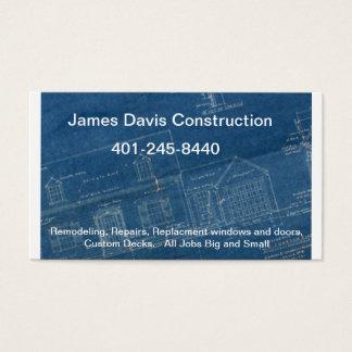 ritning-staplat James Davis konstruktion, 4… Visitkort