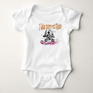RITT som är född till flickan T-shirts