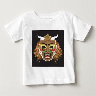Ritualistic stam- maskerar vektorn t shirt