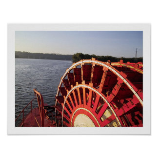 Riverboaten rullar poster